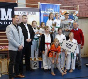 Turniej w Lesznie i grad medali