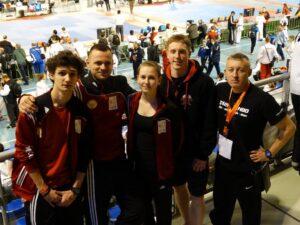 Start zawodników w Dutch Open turniej klasy G-2