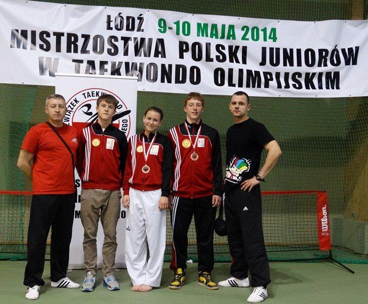 Medale Rapidu podczas Mistrzostw Polski Juniorów 2014