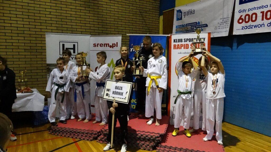 Finały Ligi Taekwondo w Śremie