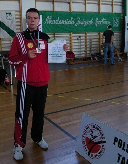 Adrian Nowicki Akademickim V-ce Mistrzem Polski Łódź 2011
