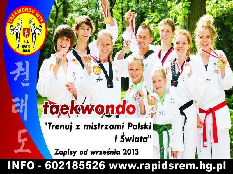Plakat - zaproszenie na treningi