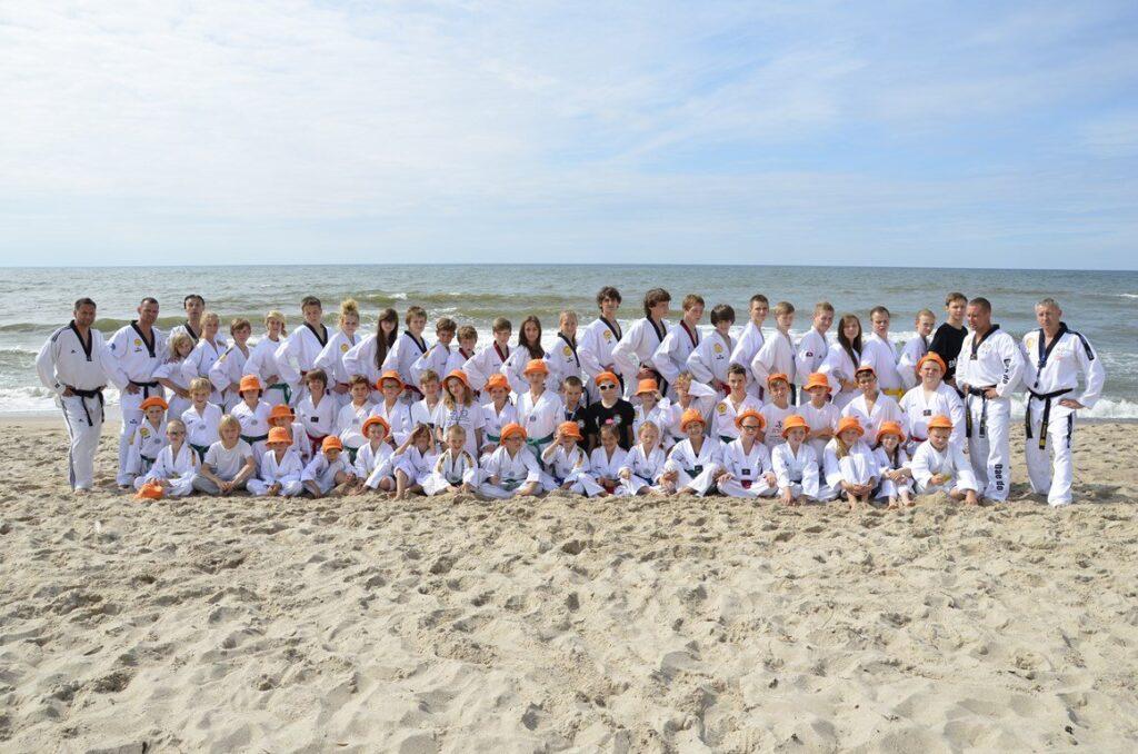 Letni obóz sportowy taekwondo Rapidu Śrem