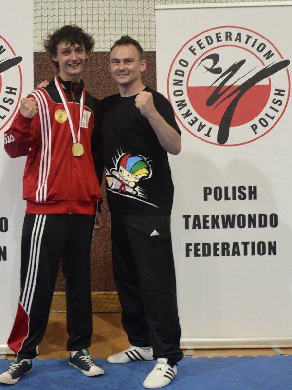 Fillip Dziuba i Zuzanna Malusiak z medalami MPJ 2013