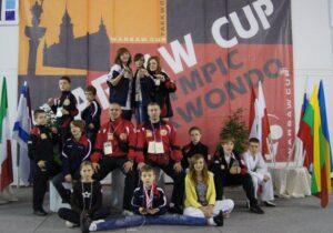 Brązowe medale Piotra Bulińskiego, Marty Grabowskiej i Agnieszki Rubik w XIII Warsaw Cup 2010