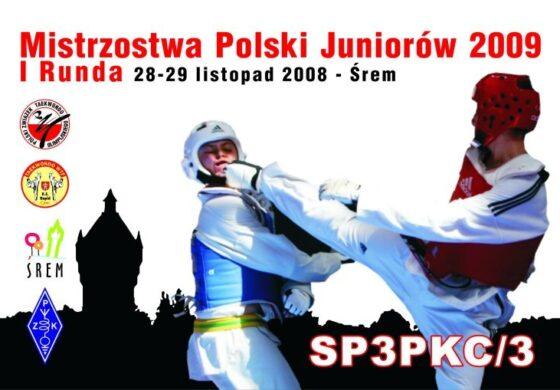 Mistrzostwa Polski Juniorów 2009 I Runda Śrem 29.11.2008