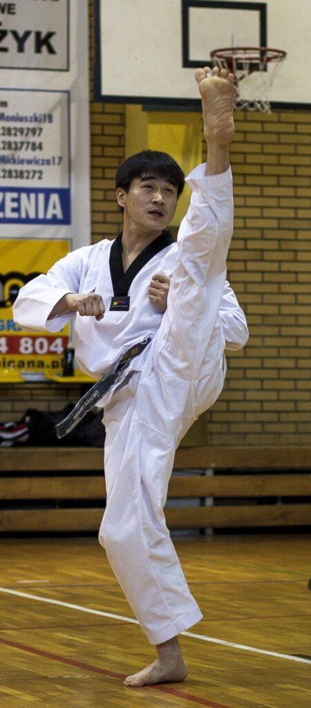 Mistrz Cholin Kang 7 DAN w Śremie