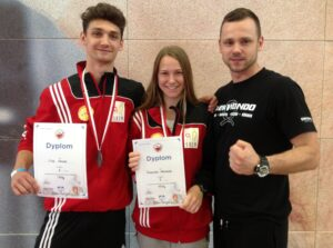 Trzy medale Mistrzów Polski