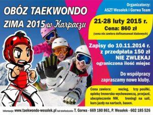 Obóz zimowy 21-28 luty 2015 Karpacz