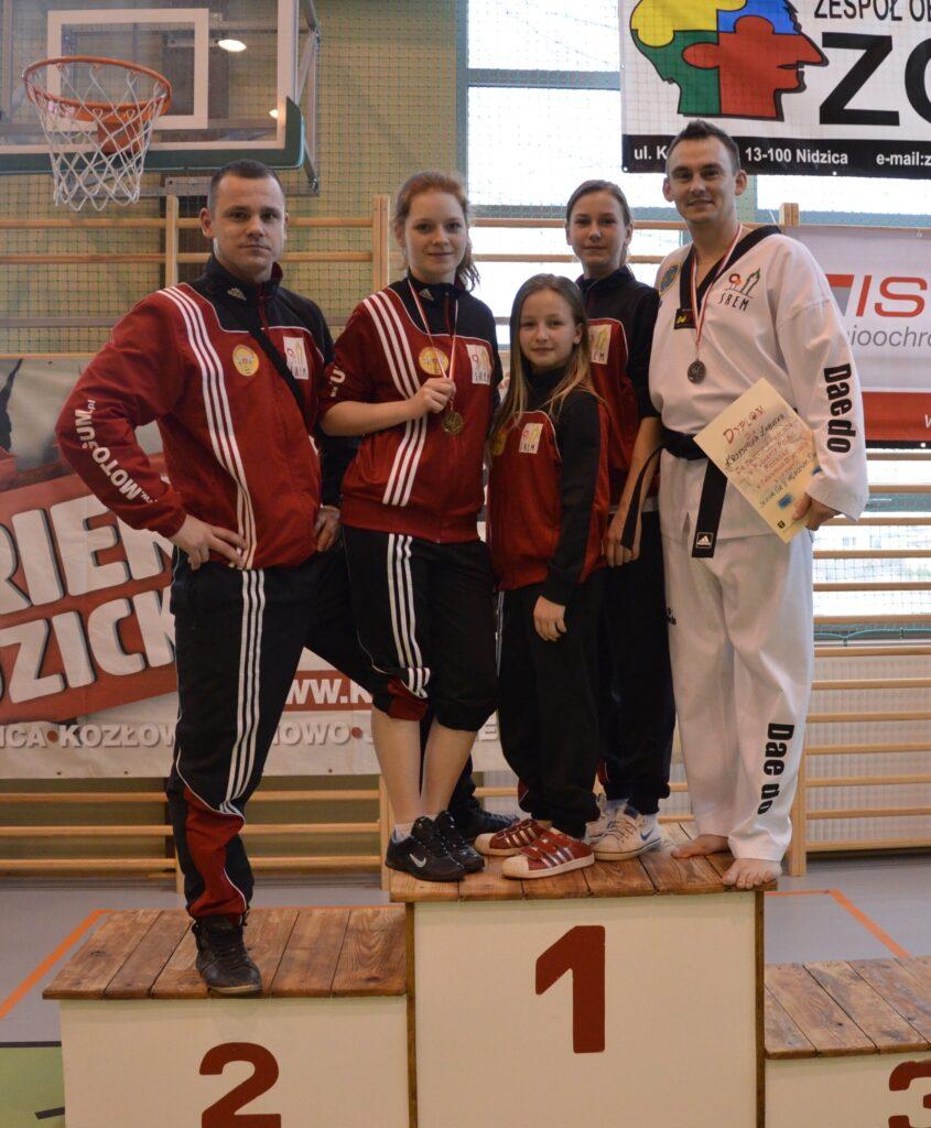 Złoto i srebro podczas I Pucharu Polski w Poomsae