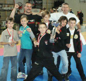 Drużynowe V-ce Mistrzostwo Makroregionu Młodzików 2010 rok