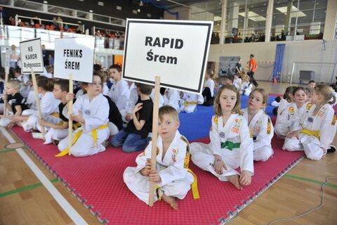 Wyśmienity start na inauguracje Ligi Taekwondo Wesołek w Kórniku