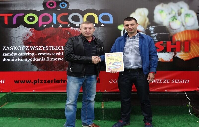 Pizzeria Tropicana nowym sponsorem Rapidu