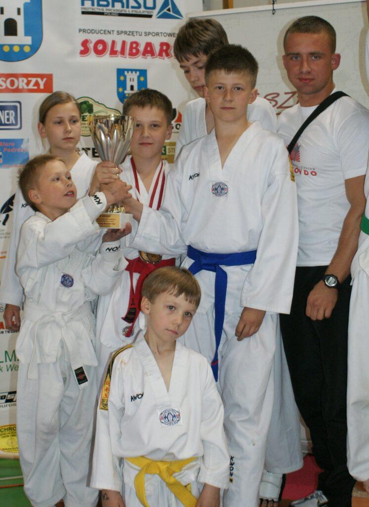 Pierwsza odsłona XI Wesołek Cup. Gospodarzem zawodów był UKS Taekwondo Pleszew
