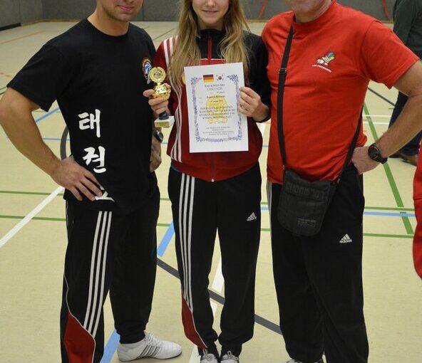 Zuza Malusiak złotą medalistką Bottrop