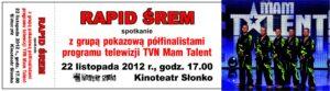 Spotkanie grupy pokazowej Mam talent z kibicami-22.11.2012