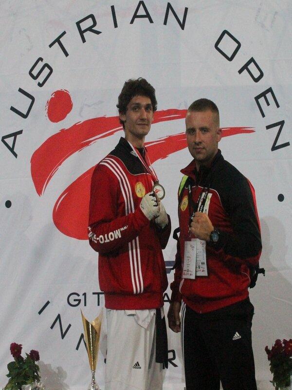 Filip Dziuba z brązowym medalem z Austrii