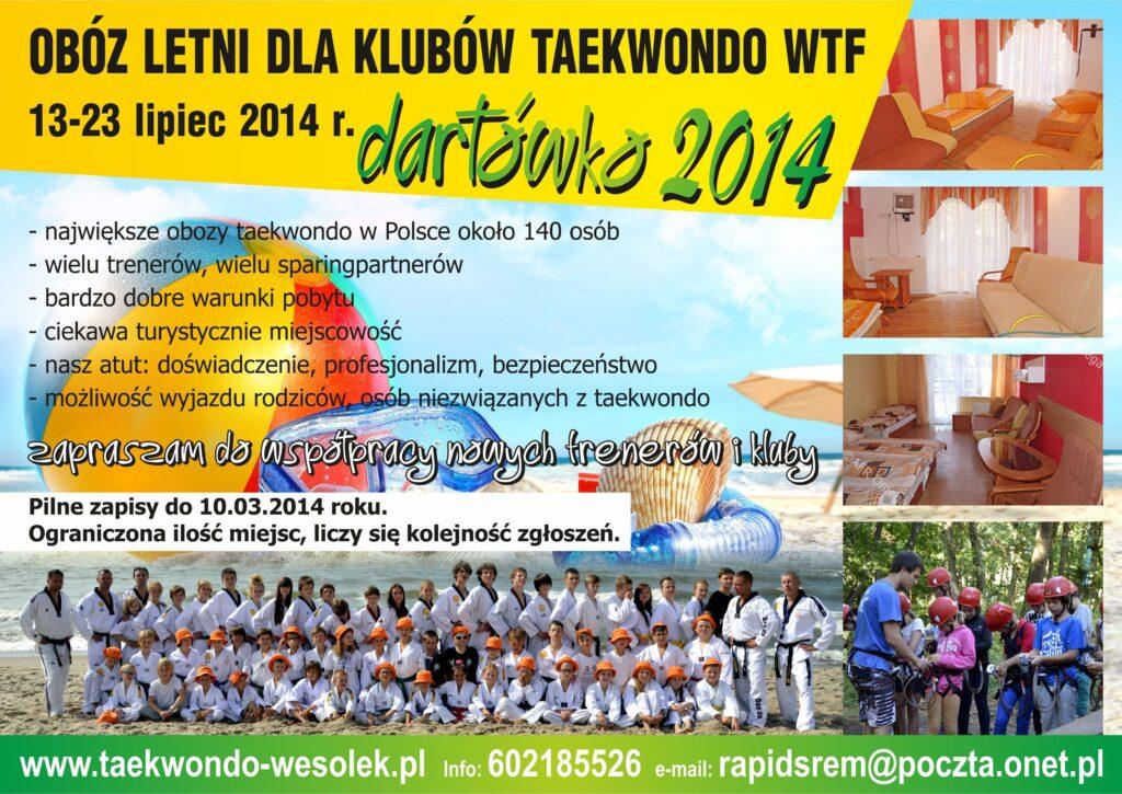 Obóz letni w Darłówku 13-23.07.2014 r.