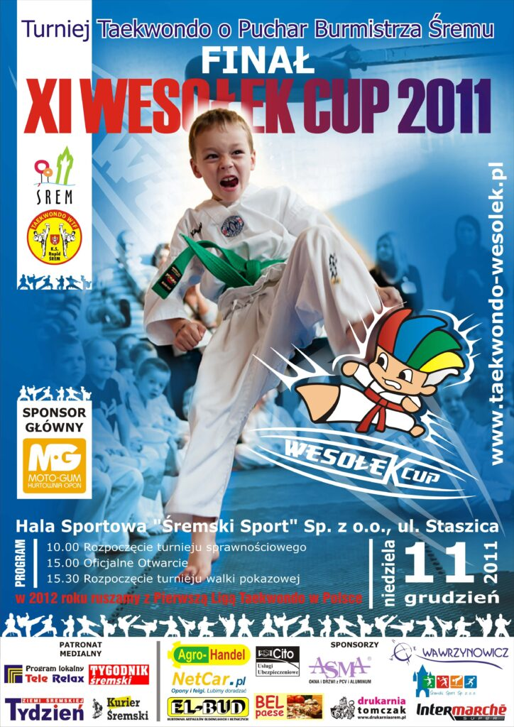 Dnia 11 grudnia 2011 roku finały Wesołek cup w Śremie