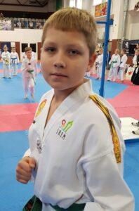Kacper Mozgwa w Mistrzostwach Makroregionu Młodzików