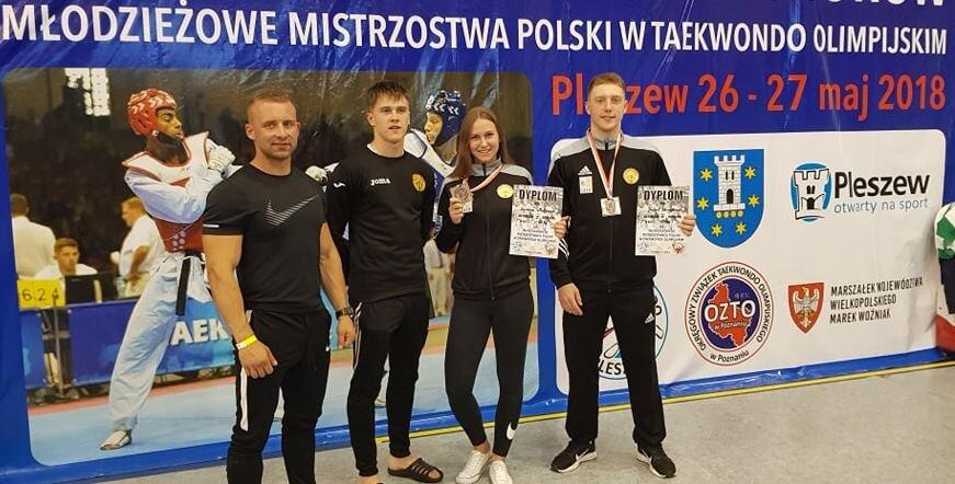 Medale na Młodzieżowych Mistrzostwach Polski!