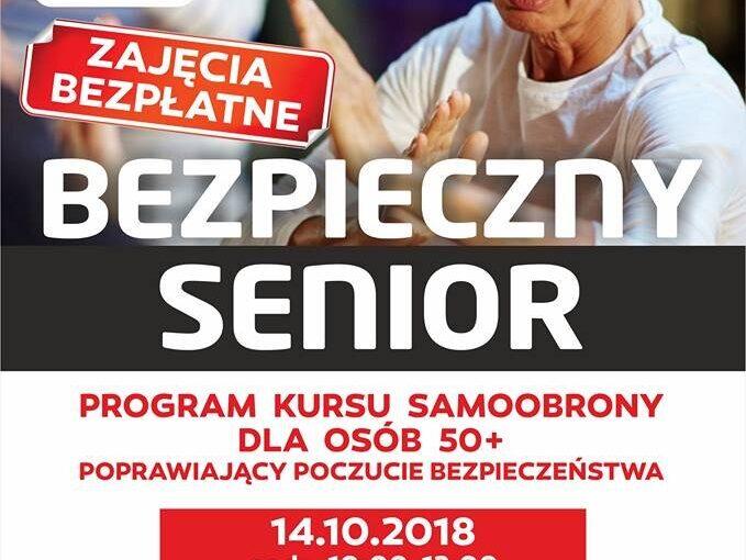 Bezpłatny kurs samoobrony dla seniorów – II edycja.