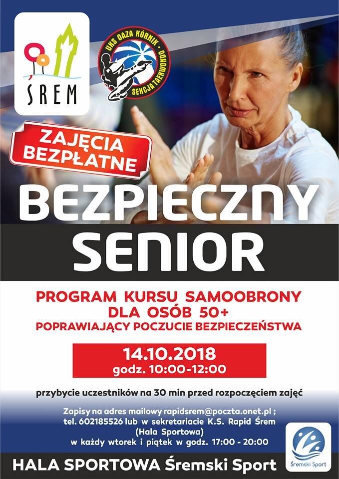 Kurs Samoobrony dla Seniorów