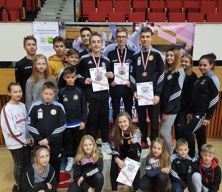 Zmagania zawodników w Olsztynie.