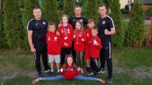 Medale dla najmłodszych.