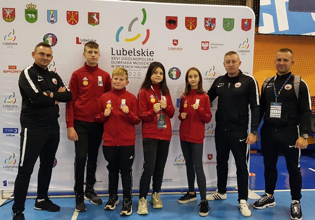 Mistrzostwa Polski Juniorów Młodszych. Puławy 2020r.