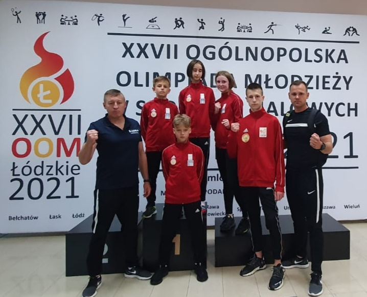 Medalowe sukcesy na Ogólnopolskiej Olimpiadzie Młodzieży